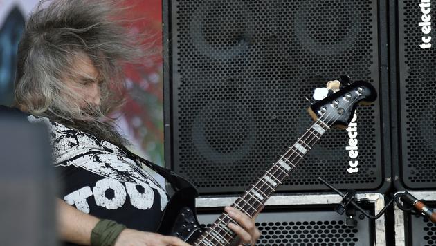 Mastodon-Sänger Troy Sanders (Bild: APA/HERBERT P. OCZERET)