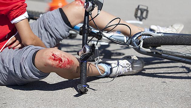 Volksschüler haftet teilweise für Fahrradunfall (Bild: thinkstockphotos.de)