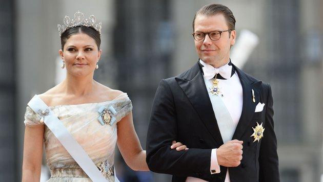 Kronprinzessin Victoria und Prinz Daniel (Bild: AFP)