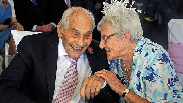 George Kirby (103) und seine Frau Doreen (91)