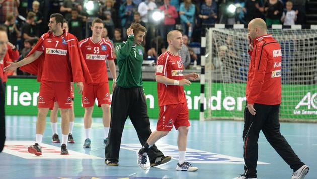 Handball-Herren verpassen Achtungserfolg knapp (Bild: APA/EPA/DANIEL¦BOCKWOLDT)