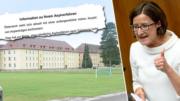 Regierung: Notfalls Kasernen per Befehl öffnen (Bild: APA/ROLAND SCHLAGER, APA/PUSCH GUNTER HBF)