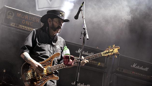 Lemmy Kilmister beim Nova Rock 2015 (Bild: APA/Herbert P. Oczeret)