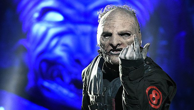 Sänger Corey Taylor von der Band Slipknot (Bild: APA/HERBERT P. OCZERET)