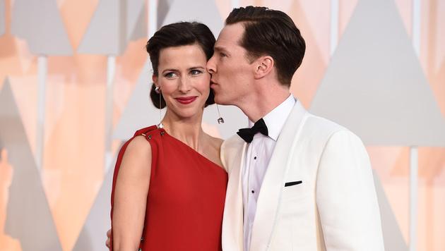 Benedict Cumberbatch und Sophie Hunter sind Eltern geworden. (Bild: Jordan Strauss/Invision/AP)