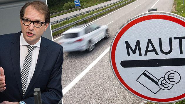 Der deutsche Verkehrsminister Alexander Dobrindt (Bild: APA/EPA/LukasSchulze, dpa)