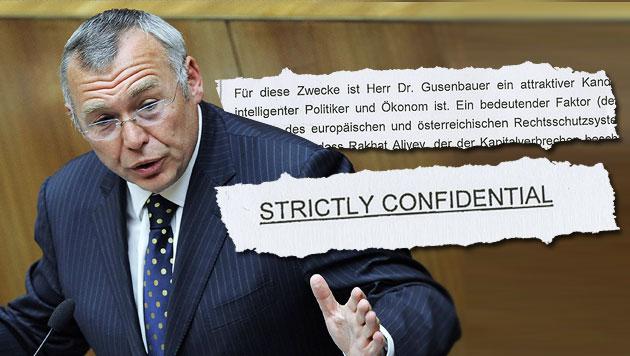"""Geheimer Brief belastet Gusenbauer (Bild: APA/ROBERT JAEGER, """"Krone"""")"""