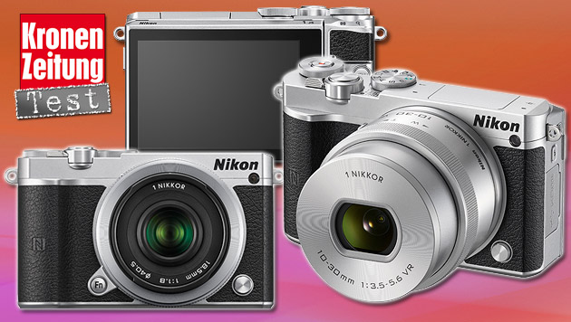 Nikon 1 J5: Selfie-Display, 4K-Videos und NFC (Bild: Nikon, thinkstockphotos.de)