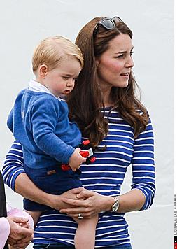 Prinz George und Mama Kate beim Polo (Bild: Viennareport)