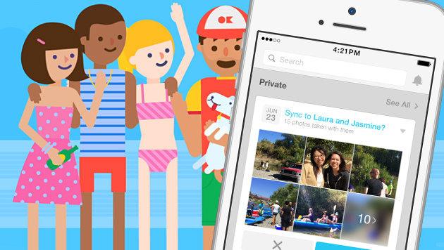 """""""Moments"""": Facebook startet Foto-Tausch-App (Bild: Facebook, krone.at-Grafik)"""