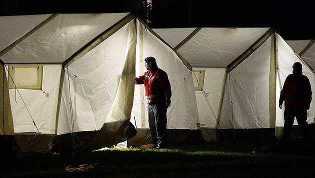 Nächster Asyl-Vorschlag: Container statt Zelte (Bild: APA/Barbara Gindl)