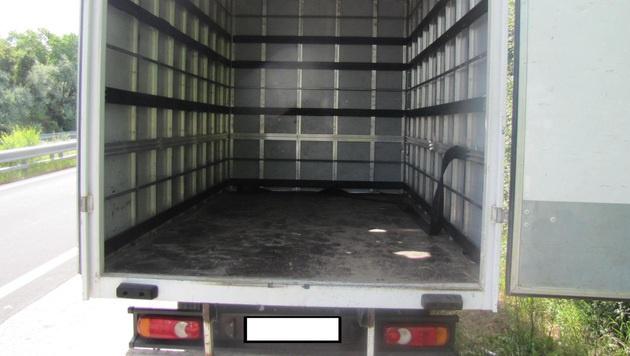 """Schlepperdrama: """"Qualvoller"""" Transport endet in NÖ (Bild: Polizei)"""