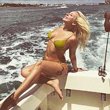 Lady Gaga sonnt sich auf den Bahamas. (Bild: instagram.com/ladygaga)