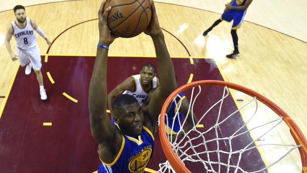 Golden State Warriors erobern NBA-Titel (Bild: APA/EPA/BOB DONNAN / POOL)