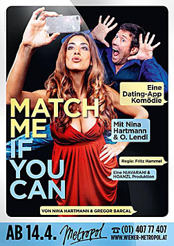 "Nina Hartmann in ""Match Me, If You Can"" im Metropol (Bild: Jan Frankl)"