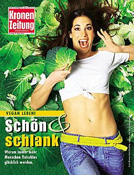 """Nina Hartmann am Cover der """"Krone""""-Bunt (Bild: Krone Bunt)"""