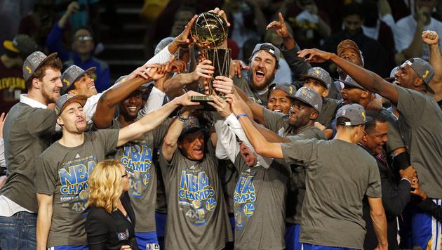 Golden State Warriors erobern NBA-Titel (Bild: AP)