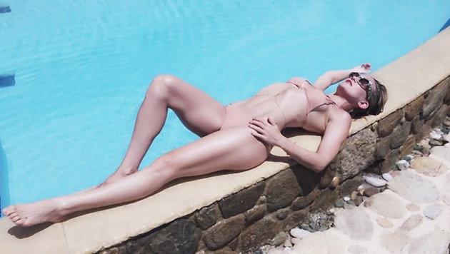 Kate Hudson zeigt ihre Bikinifigur. (Bild: Viennareport)
