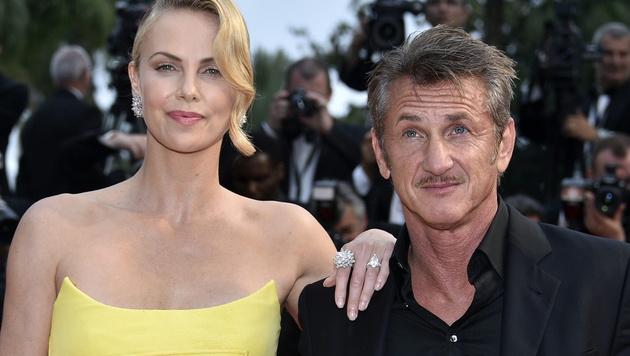 Charlize Theron und Sean Penn sollen getrennte Wege gehen. (Bild: APA/EPA/FRANCK ROBICHON)