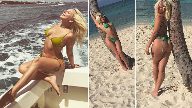 Lady Gaga: heiße Bikinishow auf Instagram (Bild: instagram.com/ladygaga)