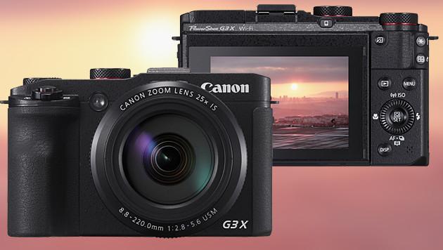 PowerShot G3 X: Neue Superzoom-Kamera von Canon (Bild: Canon, krone.at-Grafik)