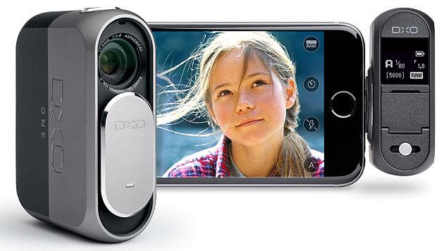 DxO One: Aufsteck-Kamera mit großem 1-Zoll-Sensor (Bild: DxO)