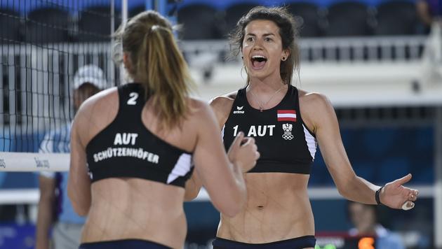 Beachvolley-Ladys holen Silber bei Europaspielen (Bild: GEPA)