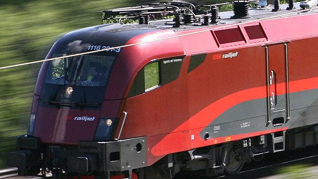 Betonteile auf Zugstrecke in Kärnten geworfen (Bild: Siemens (Symbolbild))