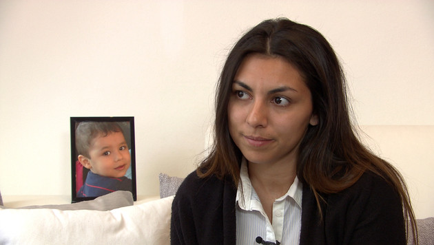 Biljana Todorovic trauert um ihren Sohn Raphael. (Bild: ORF)
