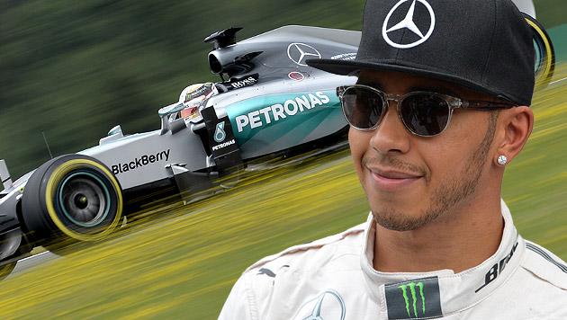 Hamilton schnappt sich Pole-Position in Spielberg (Bild: APA/HANS KLAUS TECHT, AP)