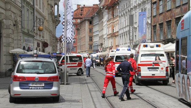 Zwei Verletzte schweben weiterhin in Lebensgefahr (Bild: Christian Jauschowetz)