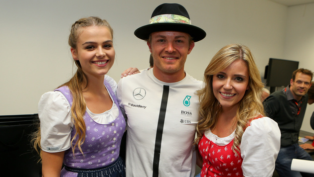 Nico Rosberg stylish (Bild: GEPA)