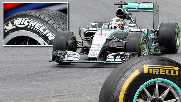 Reifen-Krieg vor Formel-1-Showdown in Österreich (Bild: GEPA, AP)
