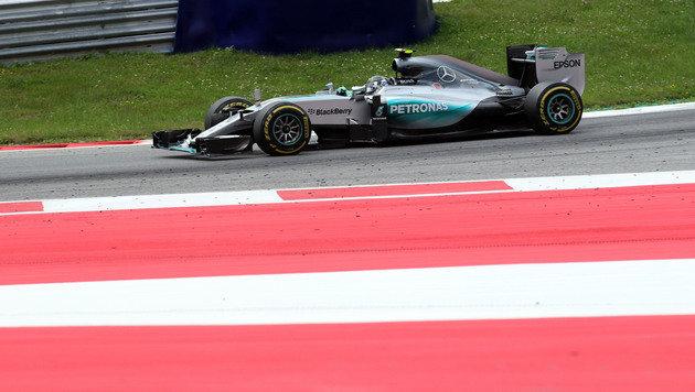 Rosberg feiert erneut Triumph bei Spielberg-GP (Bild: AP)