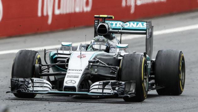 Rosberg feiert erneut Triumph bei Spielberg-GP (Bild: APA/ERWIN SCHERIAU)