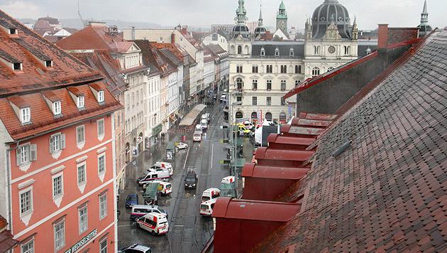 Was steckt hinter der Todesfahrt von Graz? (Bild: Christian Jauschowetz)