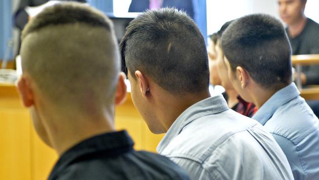"""Boss der """"Goldenberg""""-Bande in Wien verurteilt (Bild: APA/HERBERT NEUBAUER)"""