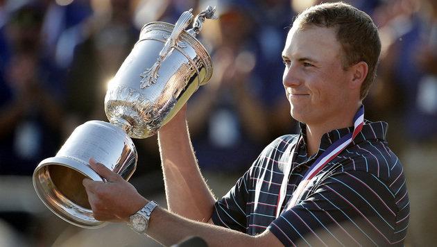 Jungstar Jordan Spieth gewinnt US Open (Bild: AP)