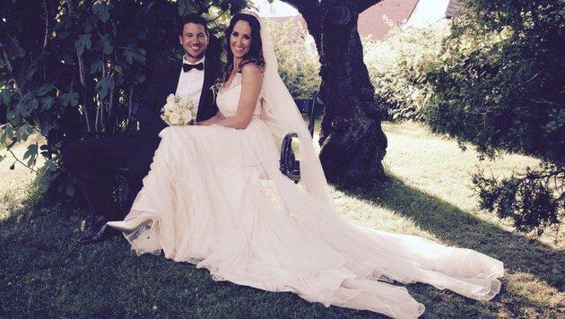 Kati Bellowitsch mit ihrem Ehemann Daniel (Bild: Privat)