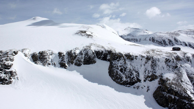 Die Unglücksstelle beim Hohen Burgstall auf rund 2.800 Meteren Seehöhe. (Bild: APA/LPD Kärnten)