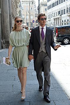 Beatrice Borromeo und Pierre Casiraghi (Bild: Viennareport)