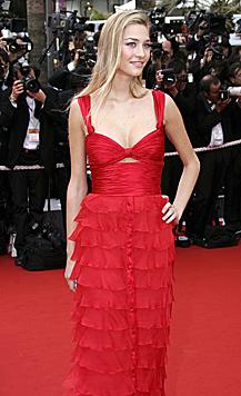 Beatrice Borromeo bei den Filmfestspielen von Cannes (Bild: EPA)