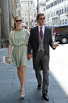 Beatrice Borromeo und Pierre Casiraghi (Bild: Viennareport)