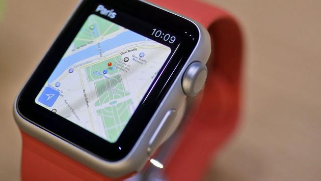 Marktforscher: 3,6 Mio. Apple Watches verkauft (Bild: AP)