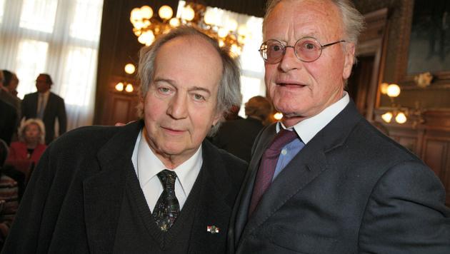Otto Schenk und Helmuth Lohner waren Bühnenpartner und Freunde. (Bild: Viennareport)