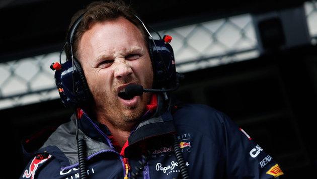 Red-Bull-Chef Horner: Wirbel um Ablöse-Gerüchte! (Bild: APA/EPA/VALDRIN XHEMAJ)