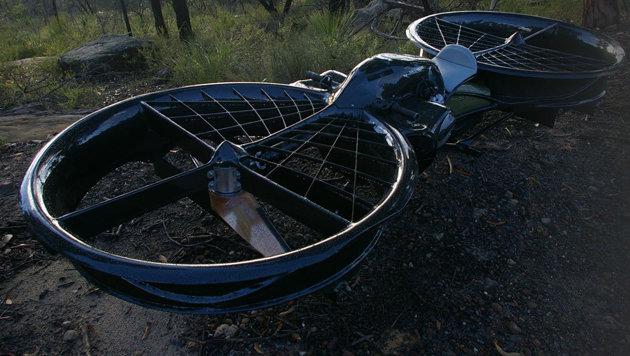 US-Soldaten sollen in Zukunft Hoverbikes fliegen (Bild: hover-bike.com)