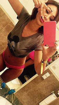 Verona Pooth postet immer wieder sexy Selfies - dieses sorgt für besonders viel Wirbel. (Bild: Facebook)