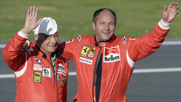 """""""Ferrari, Mercedes und Red Bull gleich schnell!"""" (Bild: APA/EPA/HANS KLAUS TECHT)"""