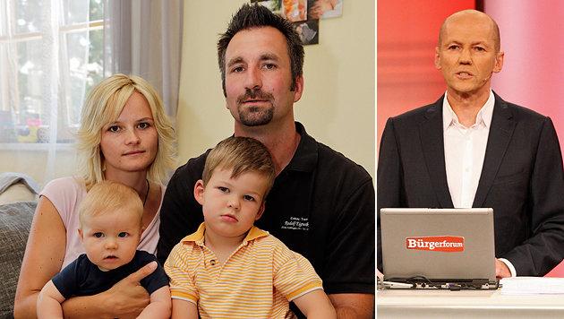 Philipps Familie kämpft nun mit der Hilfe des Bürgeranwalts gegen das Land Niederösterreich. (Bild: Klemens Groh, ORF/Hans Leitner)